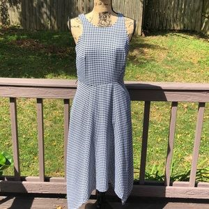 Banana Republic checkered dress (missing sash)